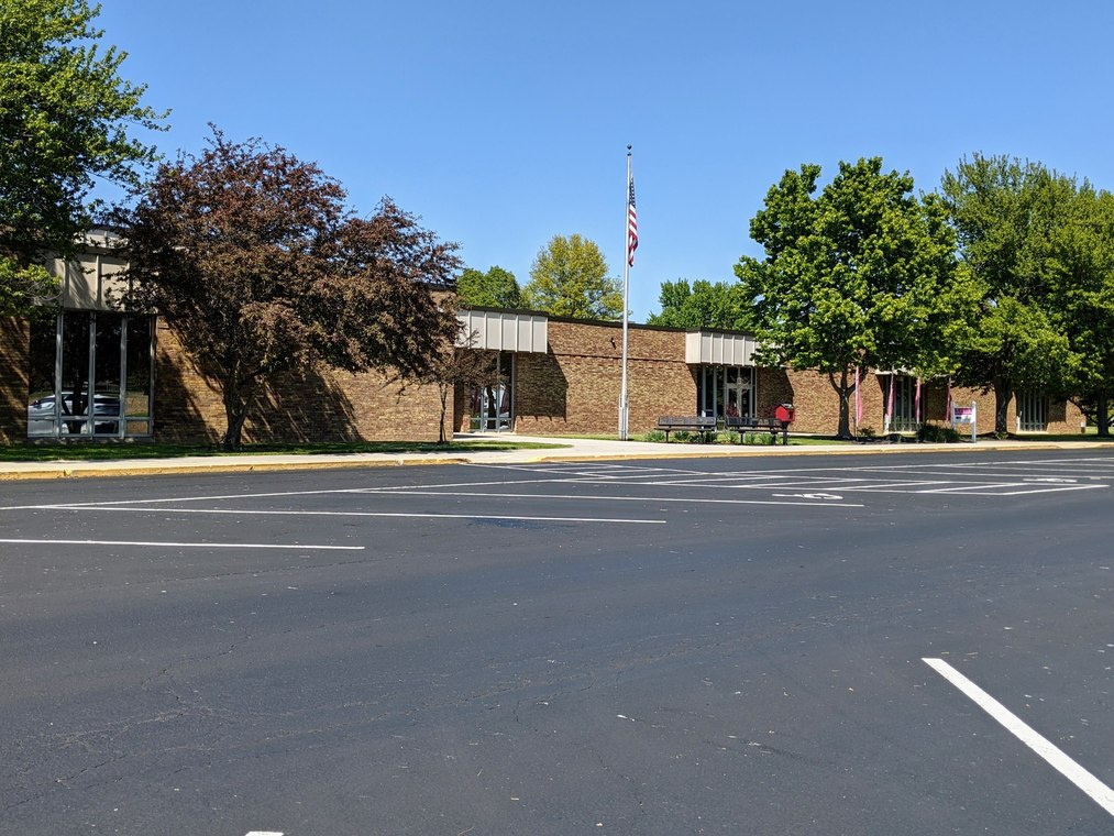 Exterior shot of Maplewood