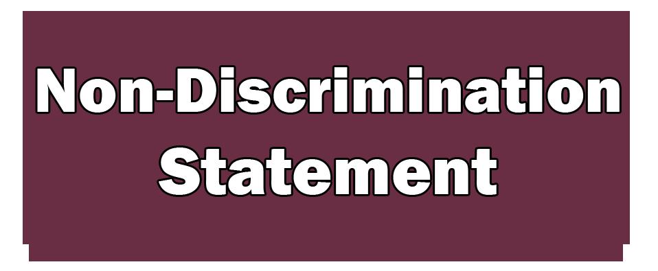 Non-Discrimination Statements
