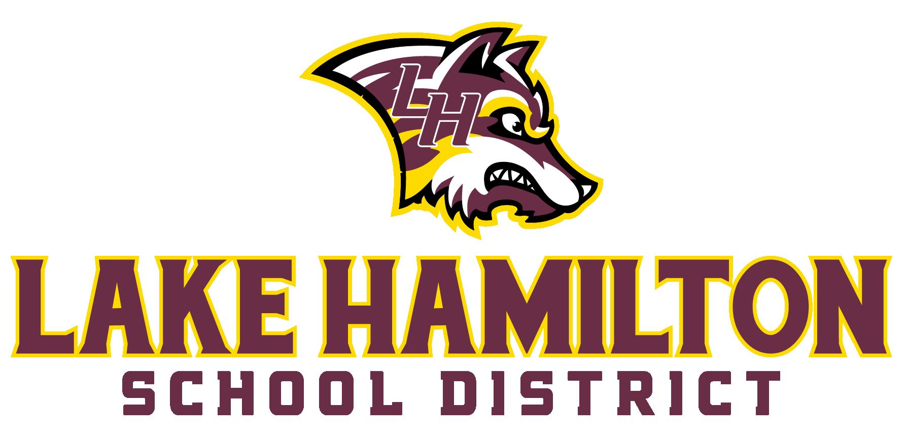 Lake Hamilton School District logo.