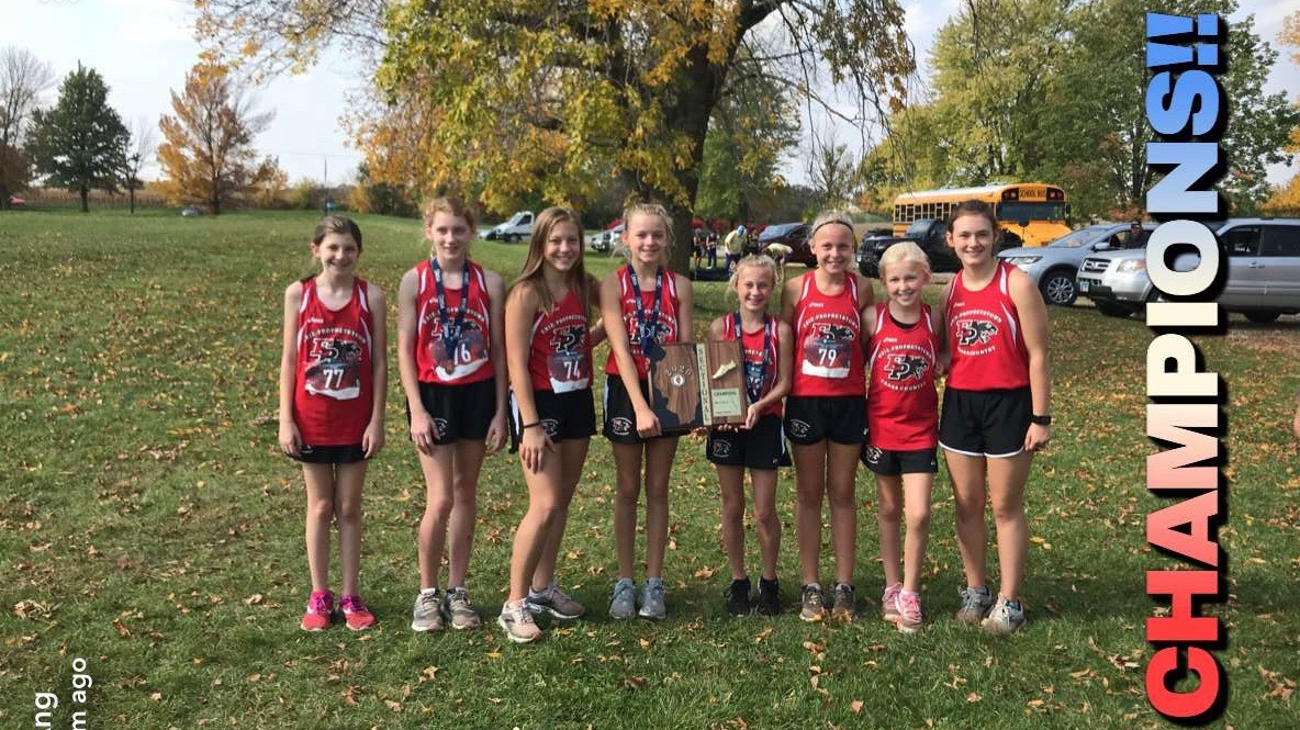 MS Cross Country Girls Champs