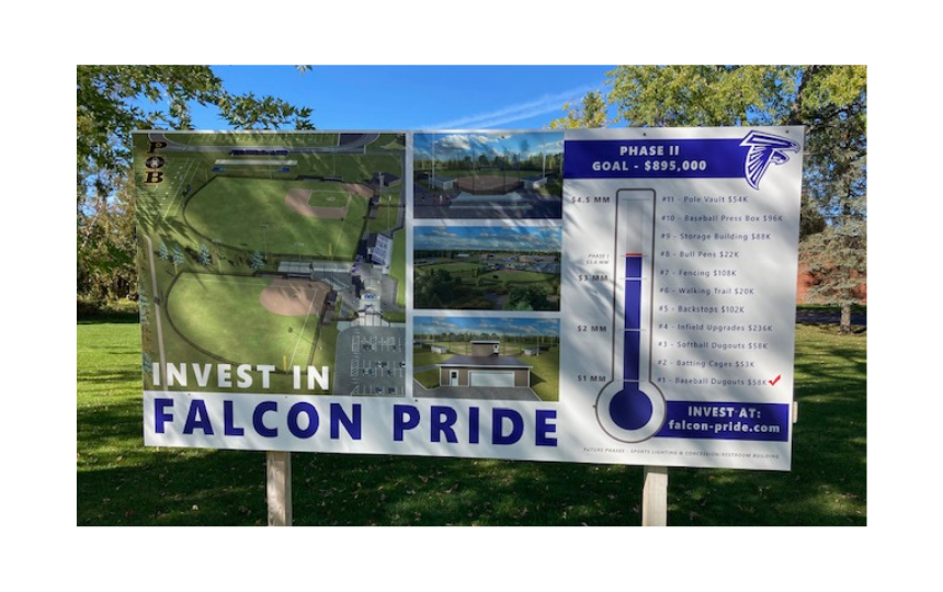 Falcon Pride Project - Phase II Billboard