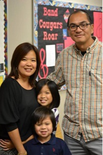 Mr. Paran with The Benigno Family