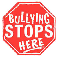 Bully stop sign