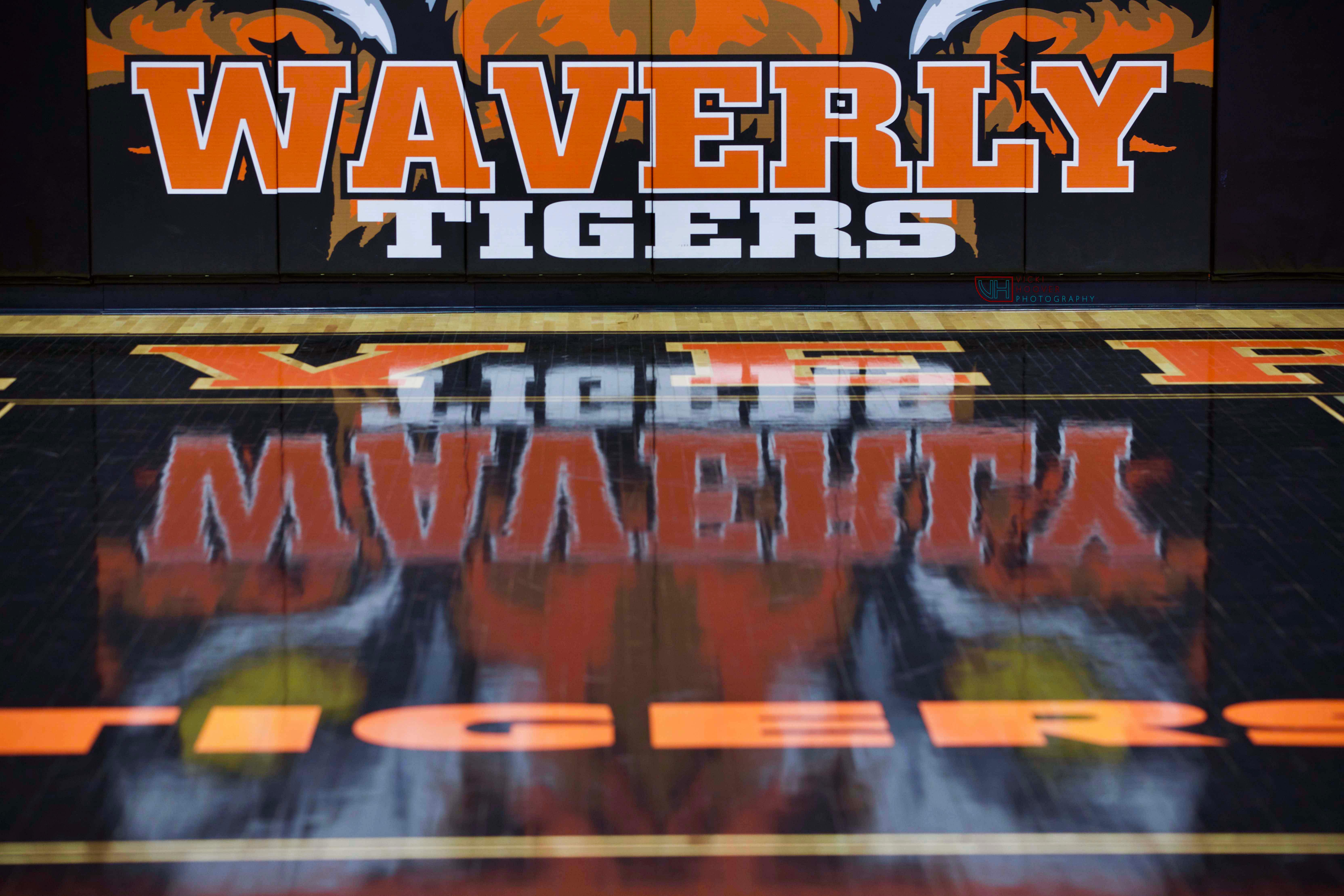 Waverly Tiger Gym Sign