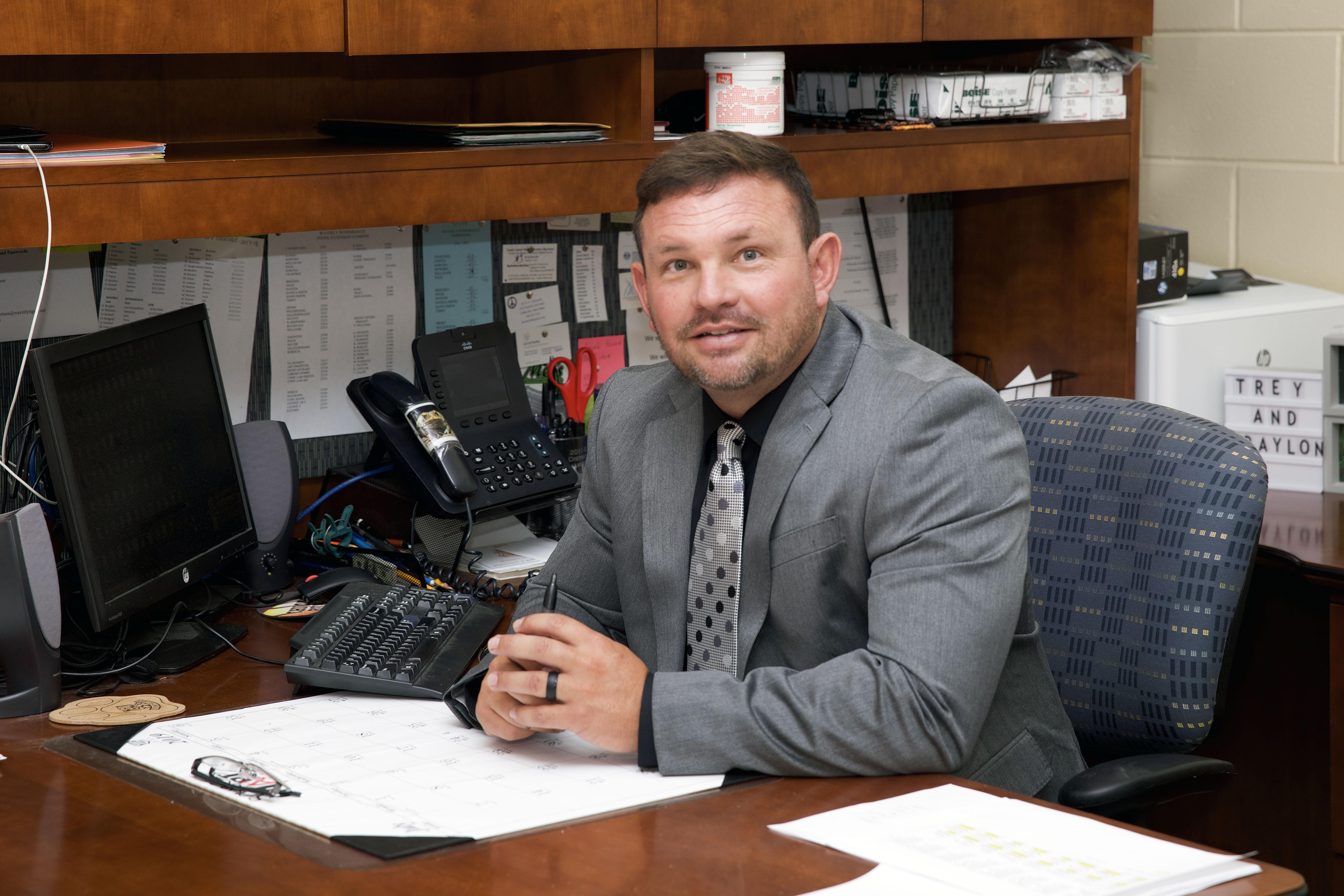 Principal Travis Robertson