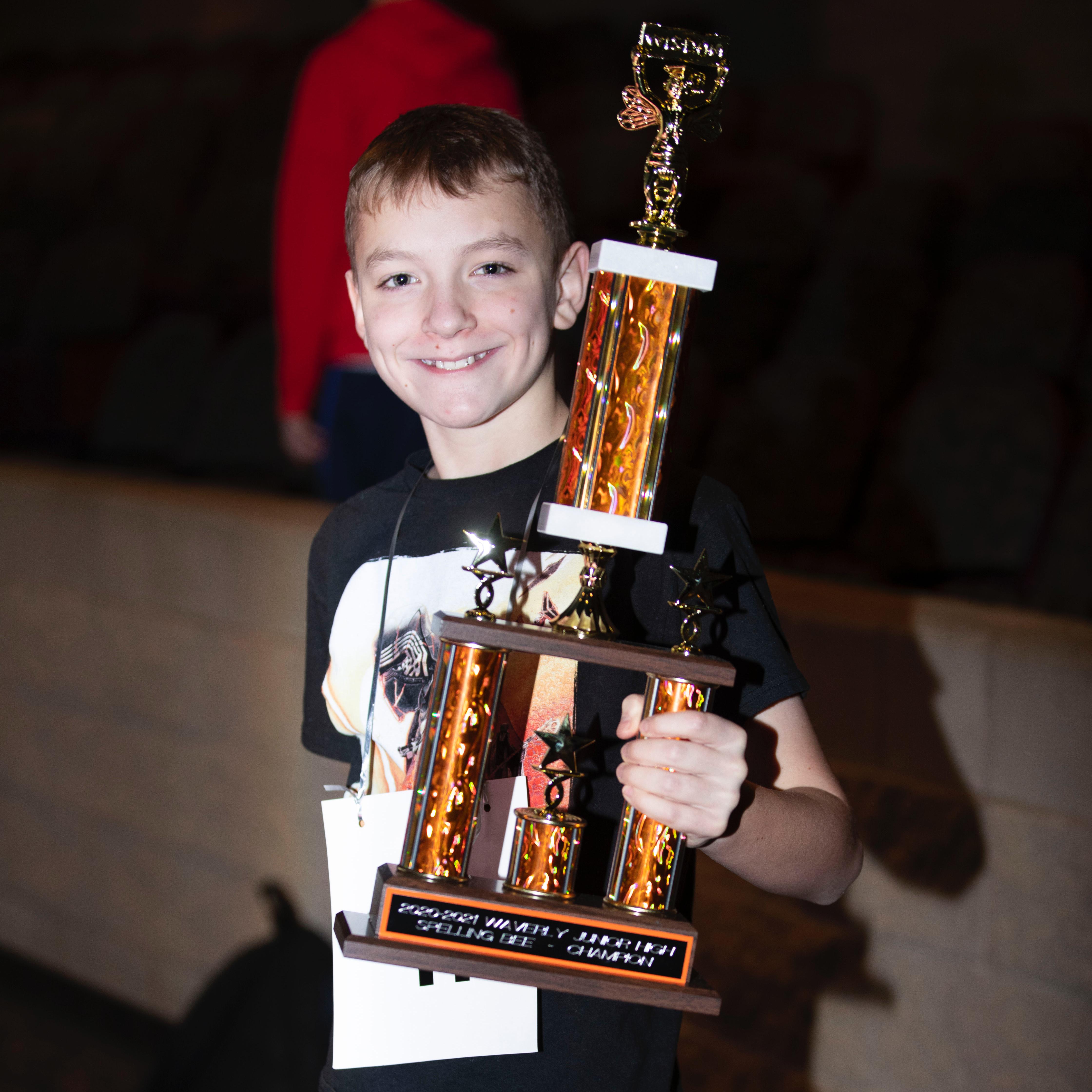 Ryker Johnson (2021 Spelling Champion)