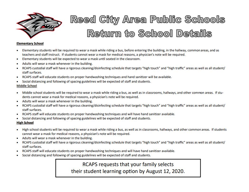 Reed City Area Public Schools