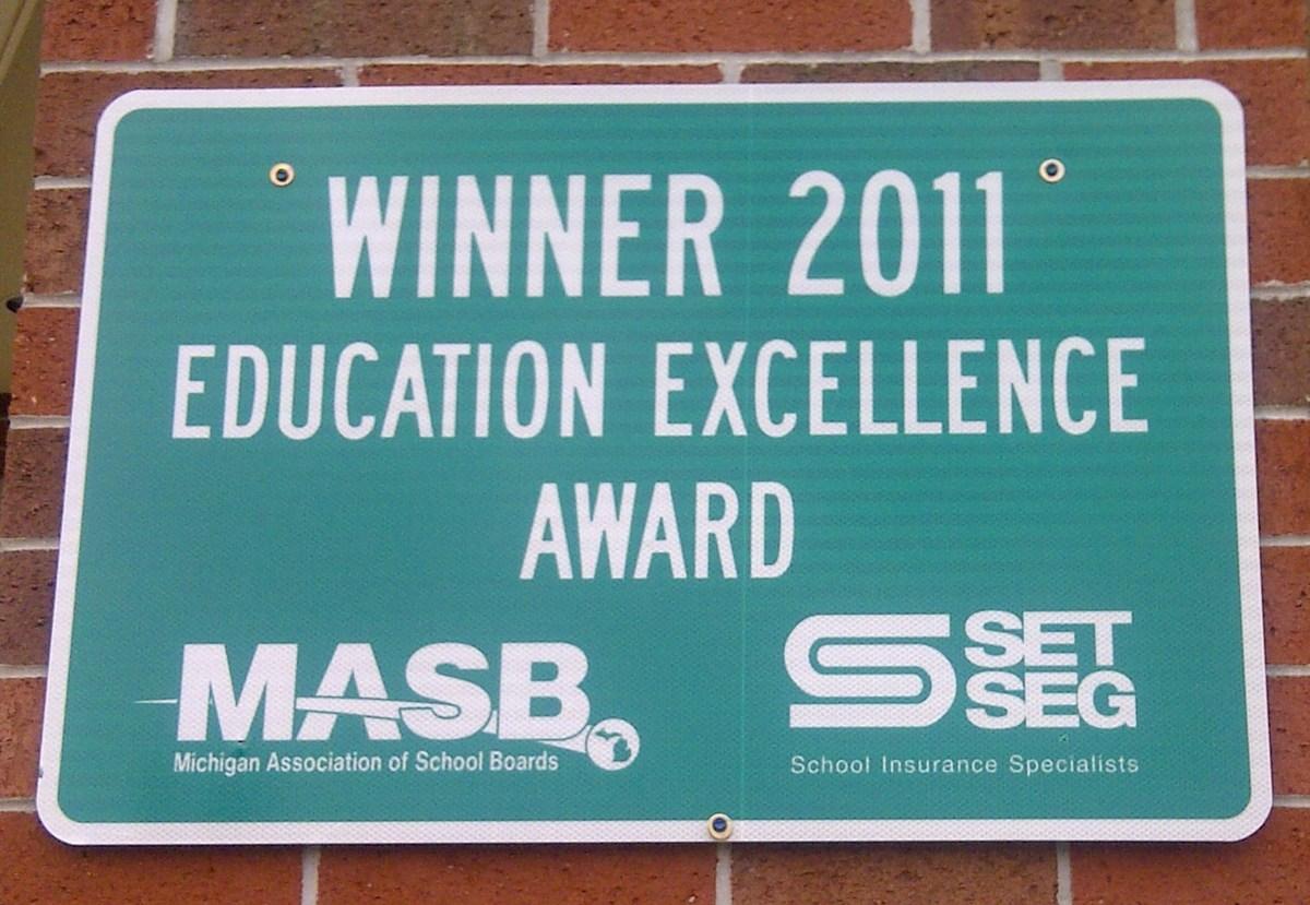 Winner 2011 Education Excellence Award