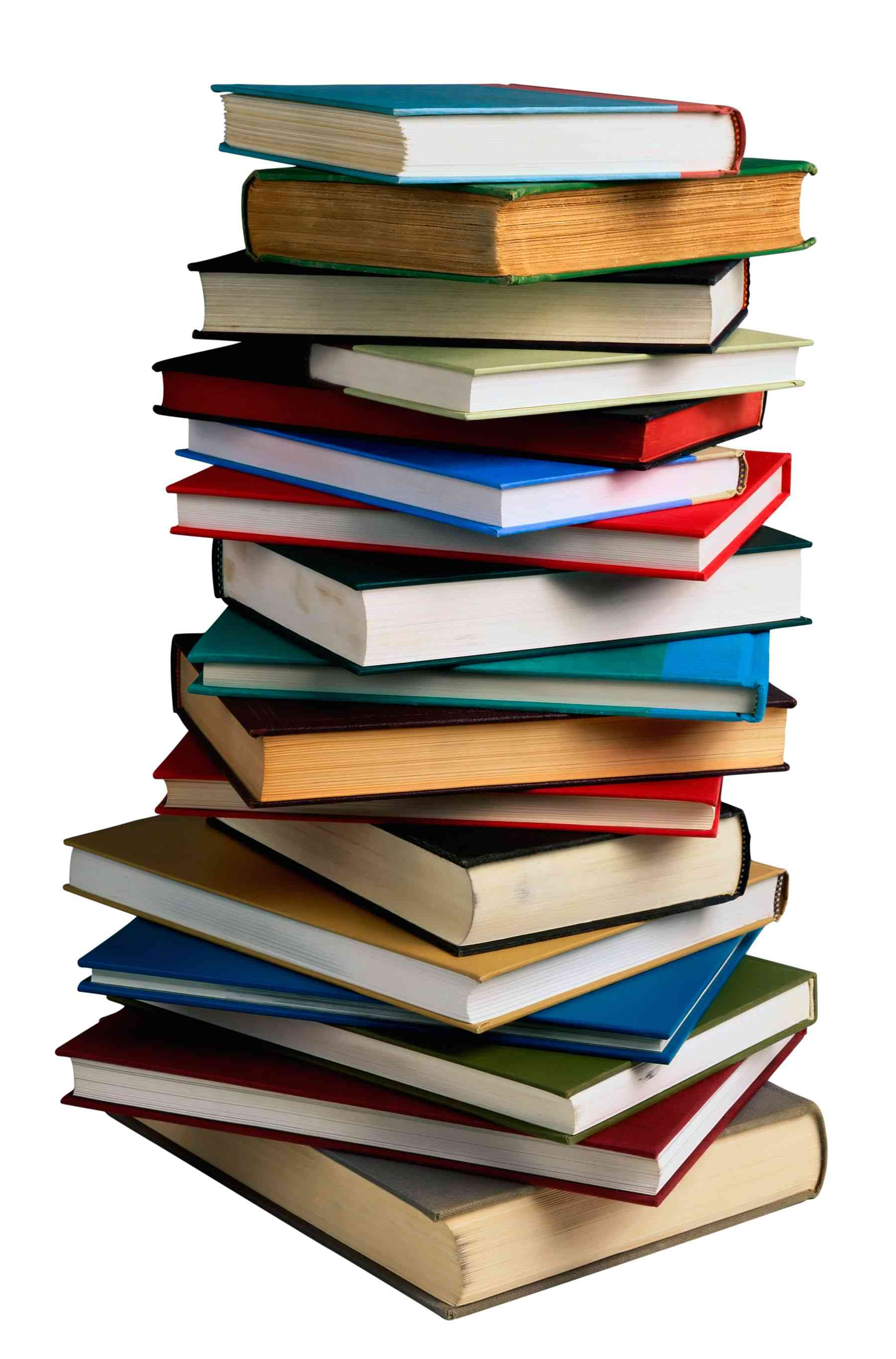 A picture of a stack of books