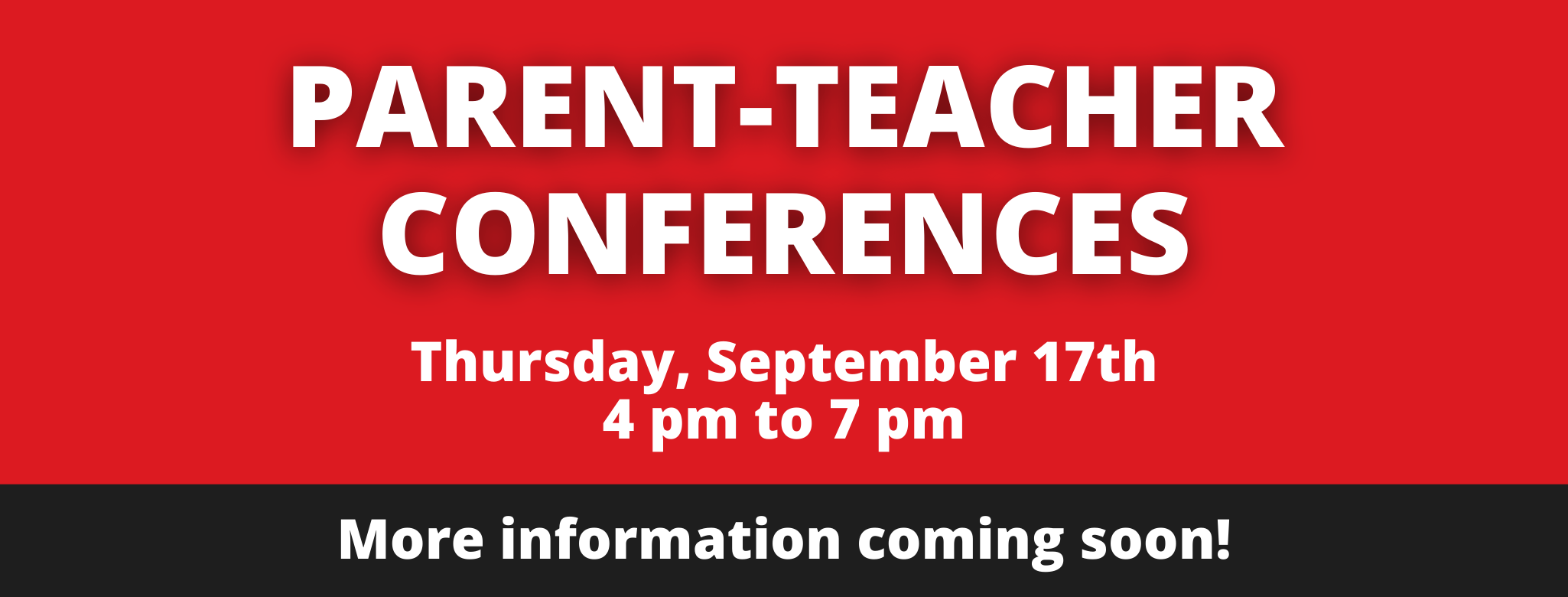 Conferences on Thursday, September 17