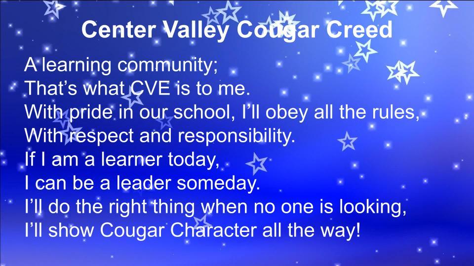cougar creed