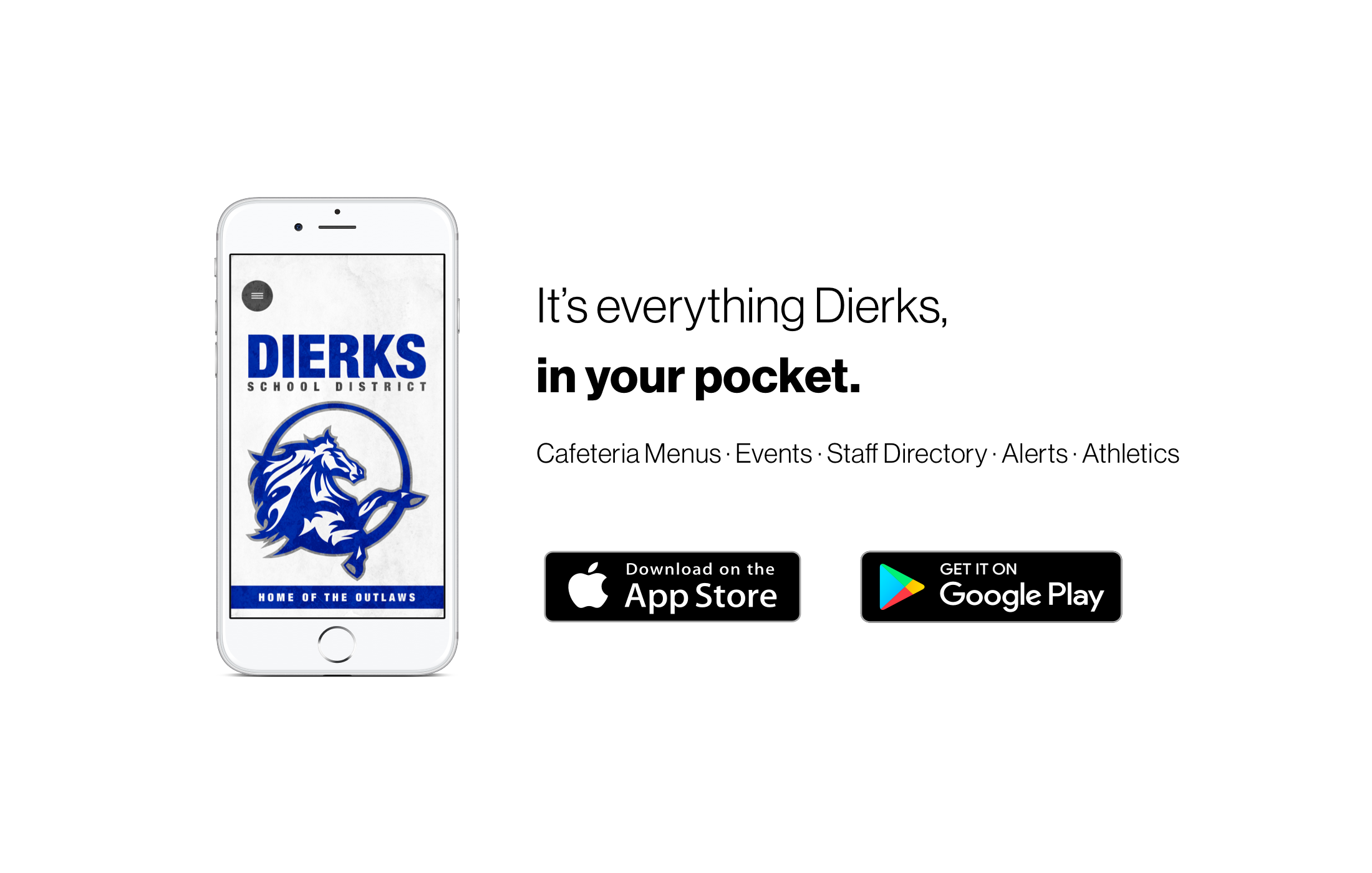 It's everything Dierk, in your pocket. Go and download our new app from the App store and Google Play store.