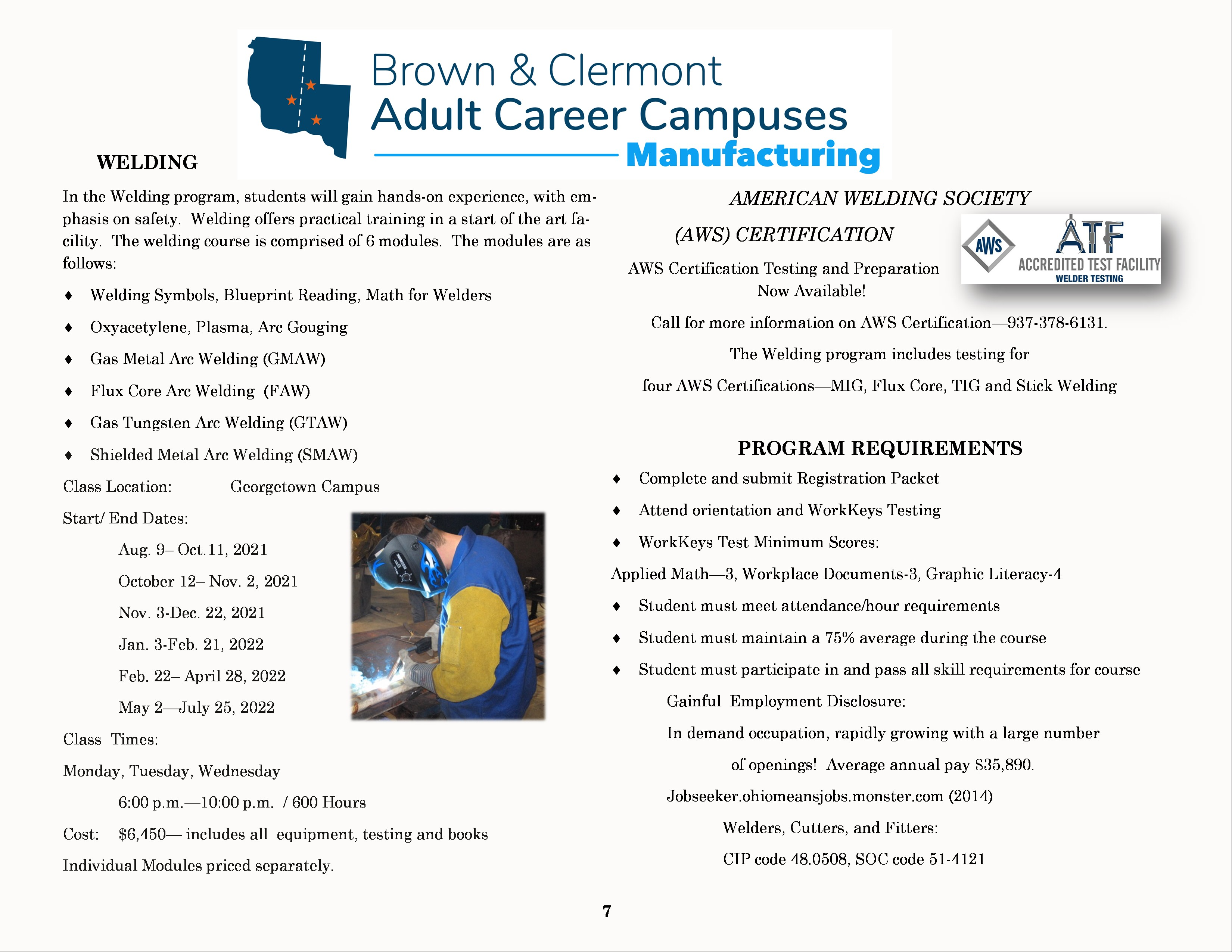 Course Catalog - Page 7