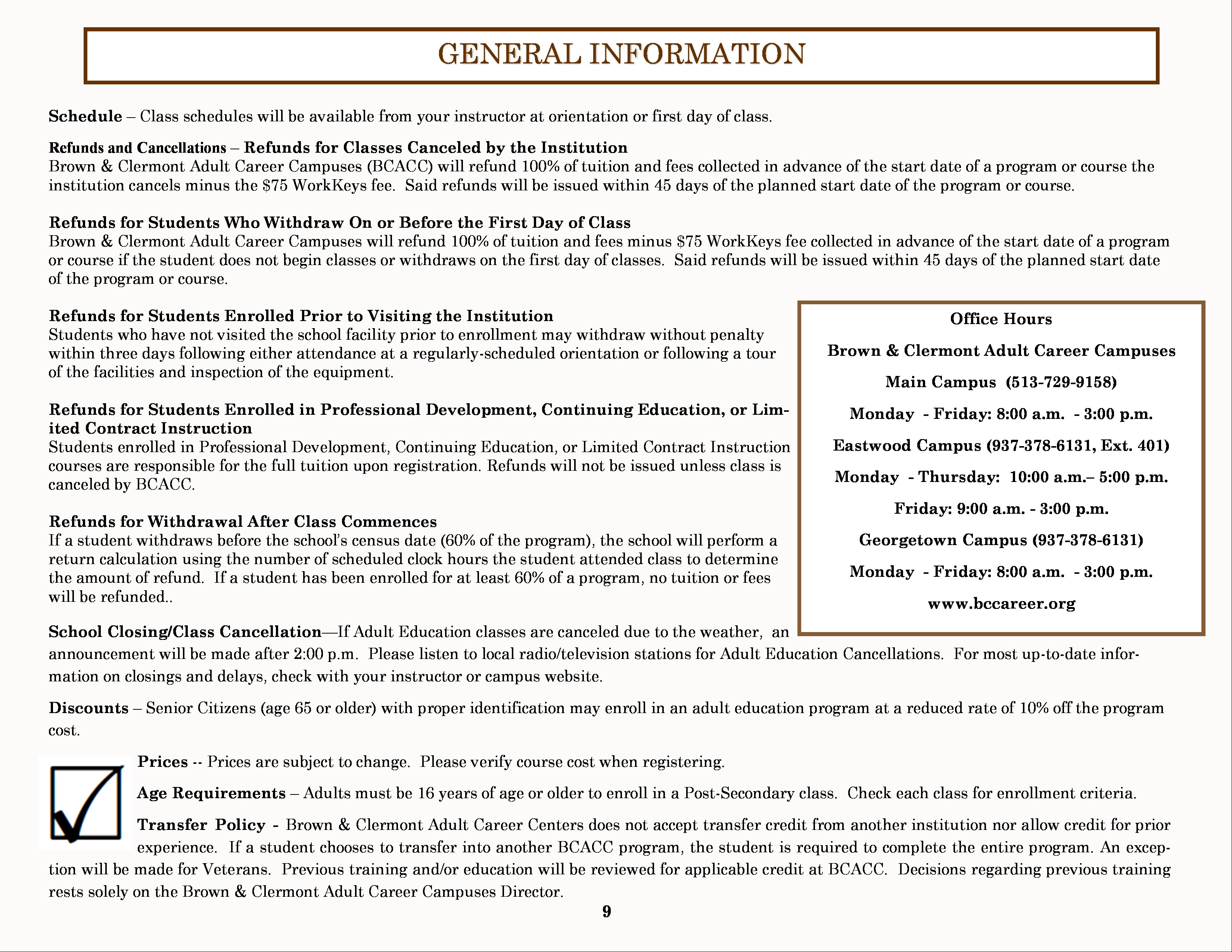 Course Catalog - Page 9