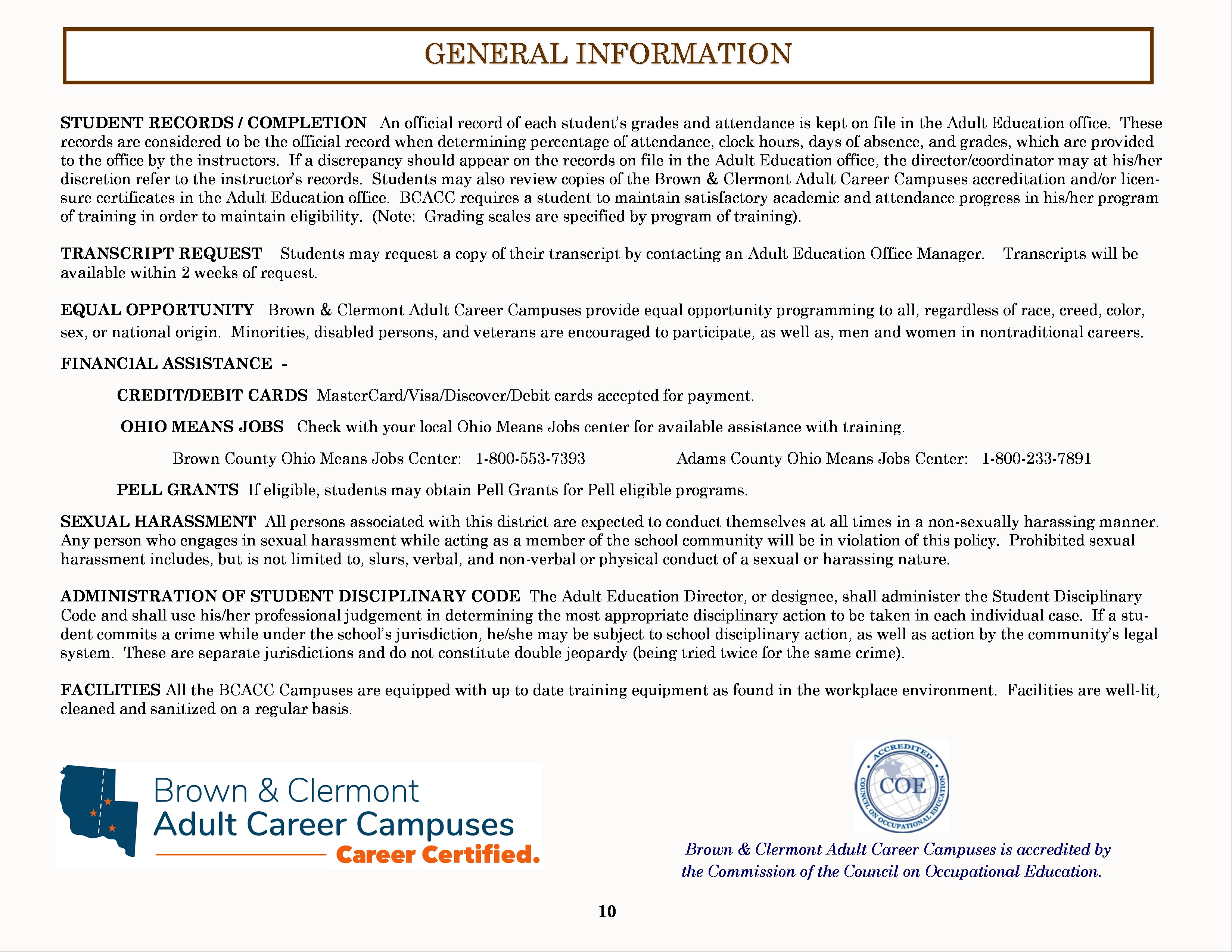 Course Catalog - Page 10