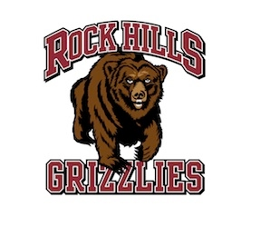 Rock Hills Grizzlies logo