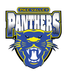 USD 426 Pike Valley Panthers logo