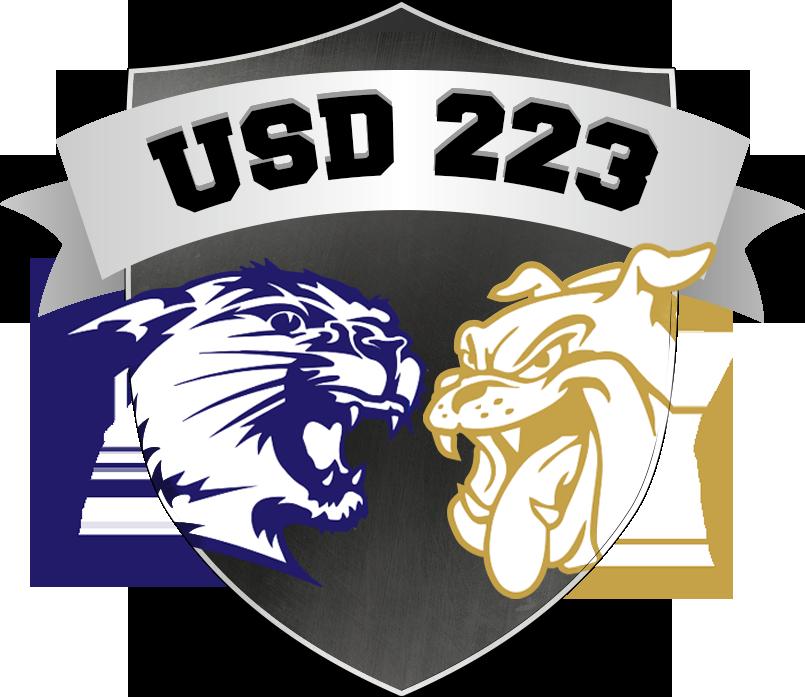 USD 223 logo