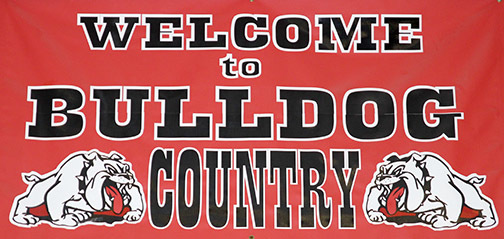 WELCOME TO BULLDOG COUNTRY