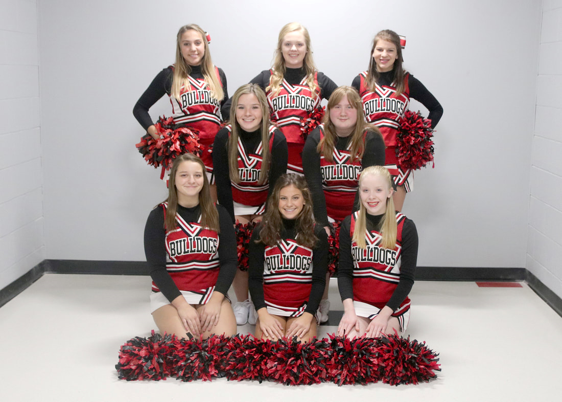 Photo of the CHEER team.