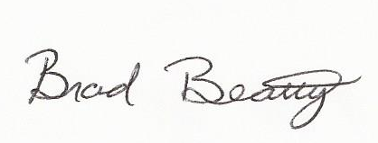 Brad Beatty Signature