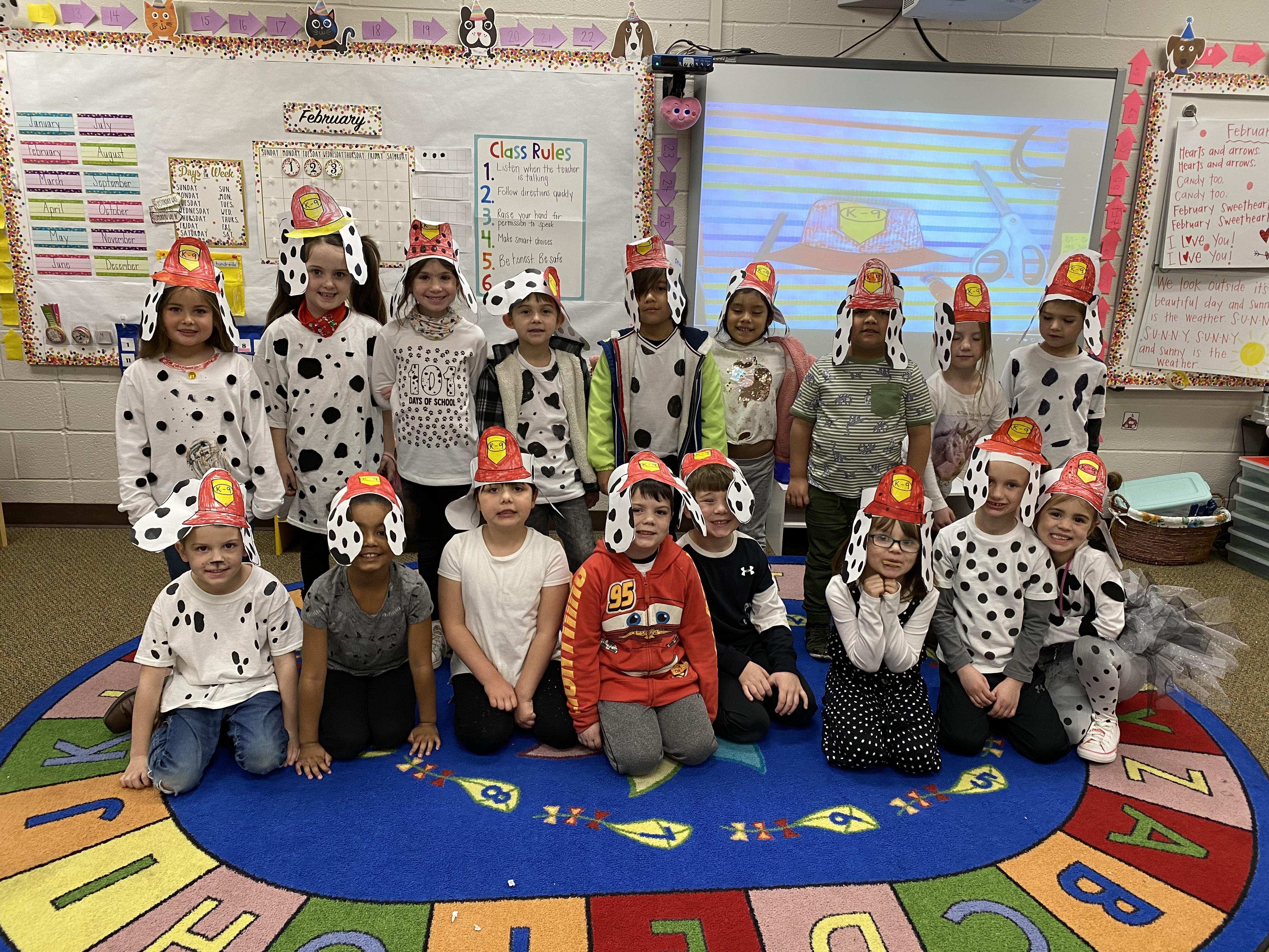Kindergarten 101st day