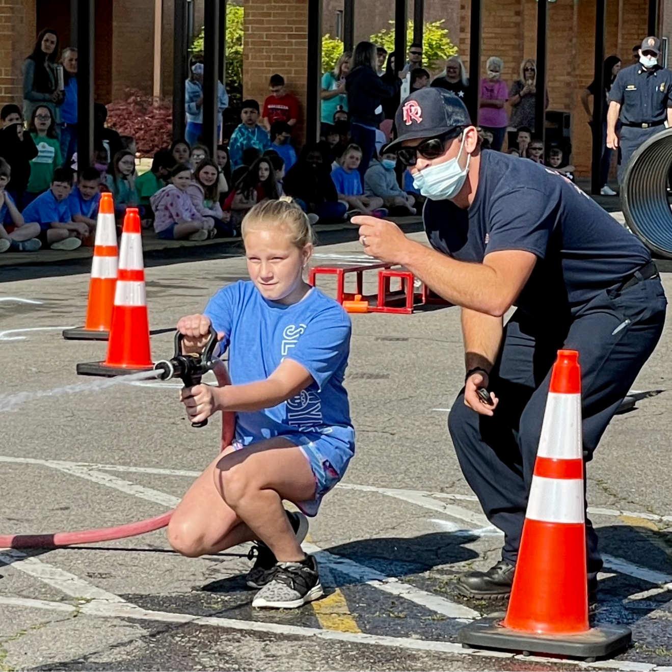 4th grade firefighter challenge