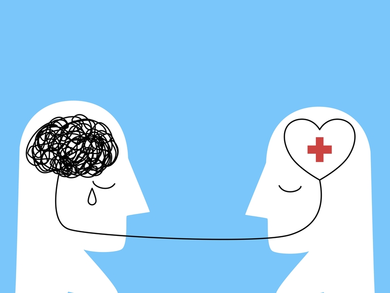 one brain helping another
