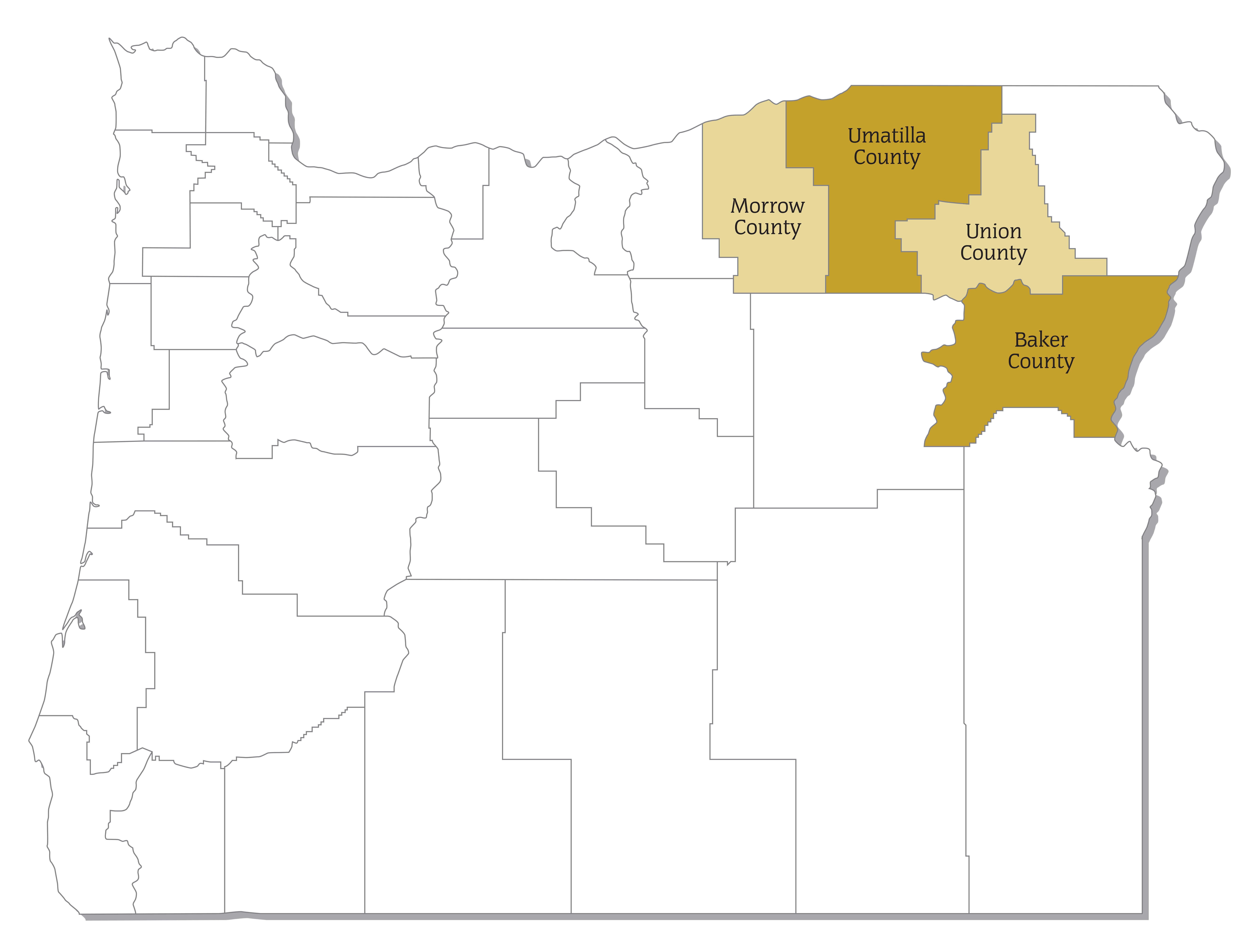Oregon Trail REN Counties Served