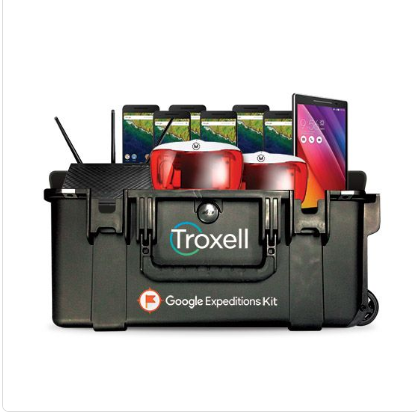 A photo of Troxell - Google Expedition Kit.