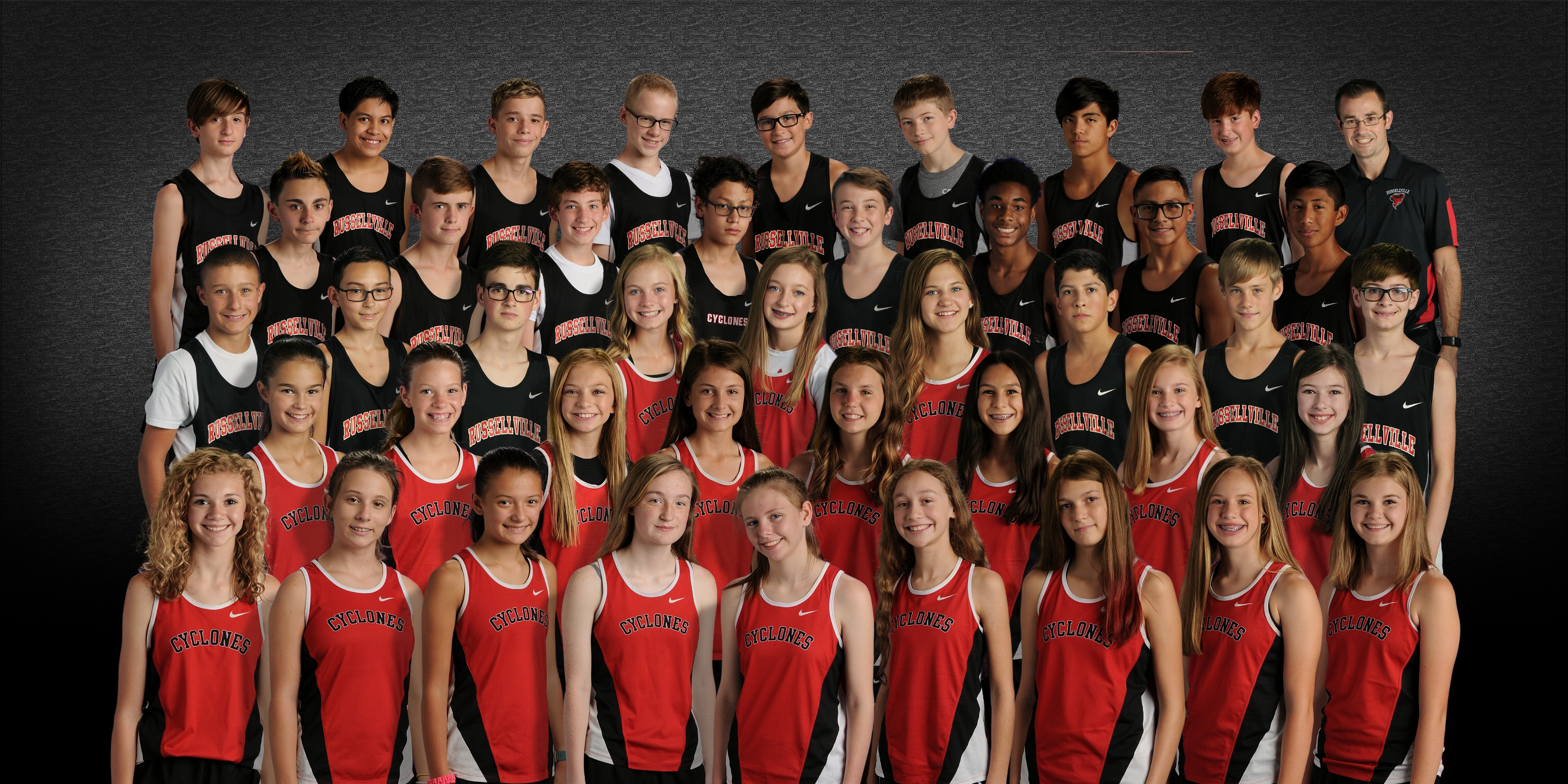 RJHS and RMS Cross Country