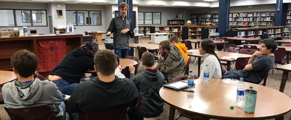 The HCHS Coding Club Had A Special Visitor
