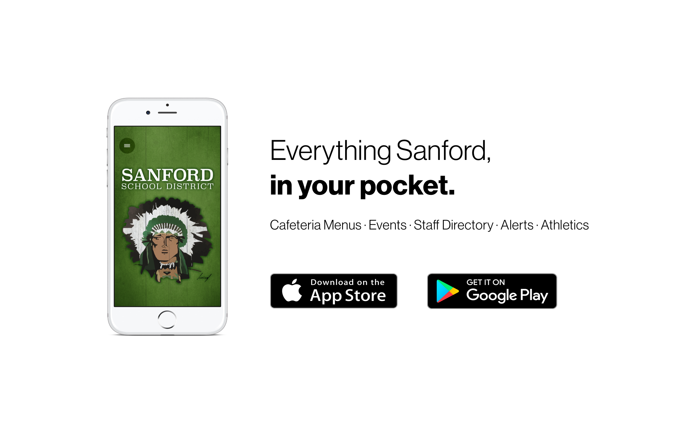 Everything Sanford, in your pocket
