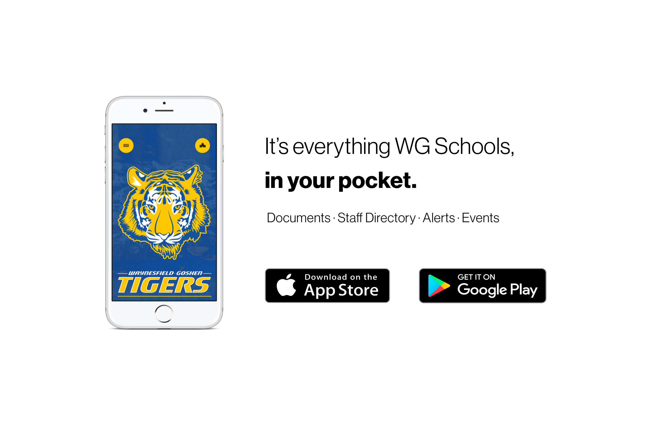 It's everything WG Schools, in your pocket.