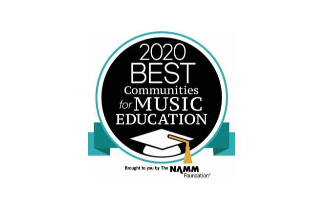 2020 Best Communities for Music Education