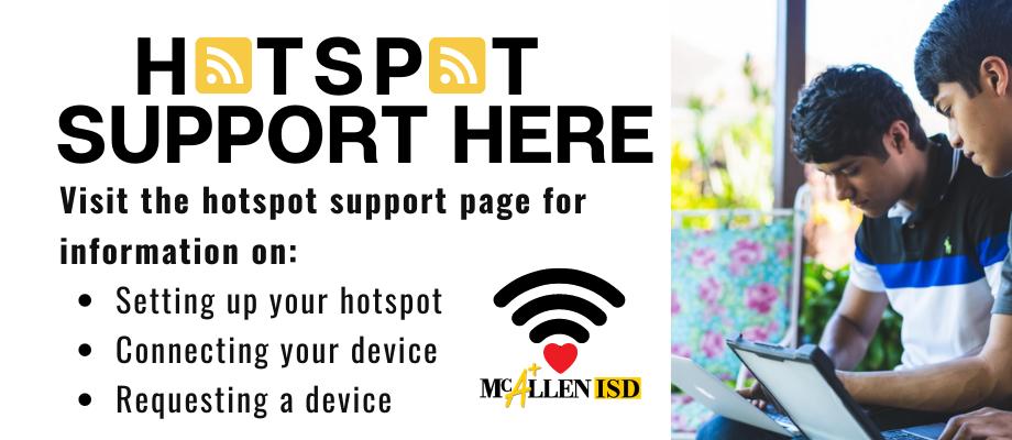 McALlen ISD Mobile Hotspot