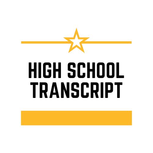 High School Transcript Image