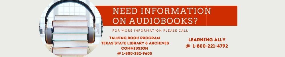 audio book information