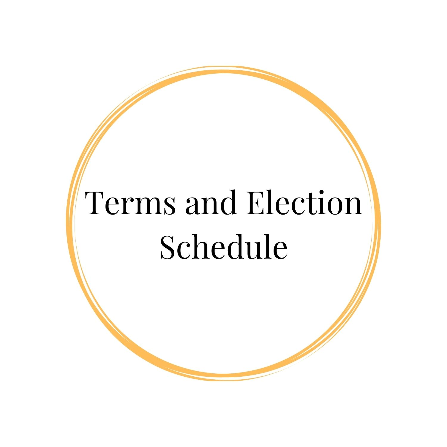 Terms and Election Schedule Photo