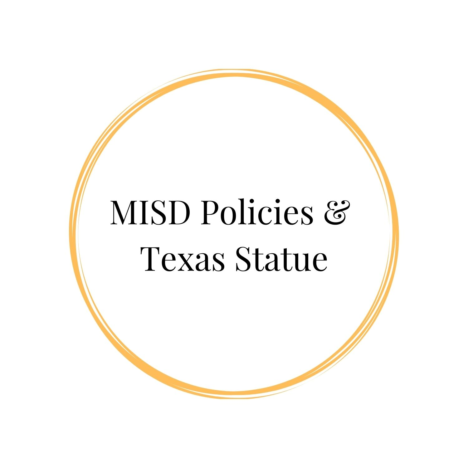 MISD and Texas Statue Photo