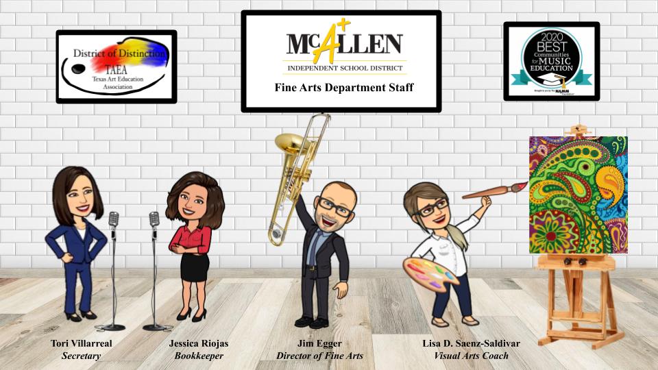 McAllen ISD Fine Arts Staff