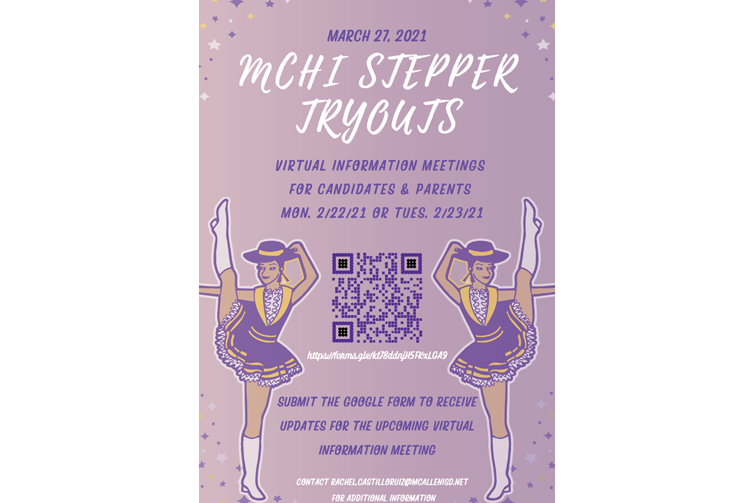 McHi Stepper Tryouts