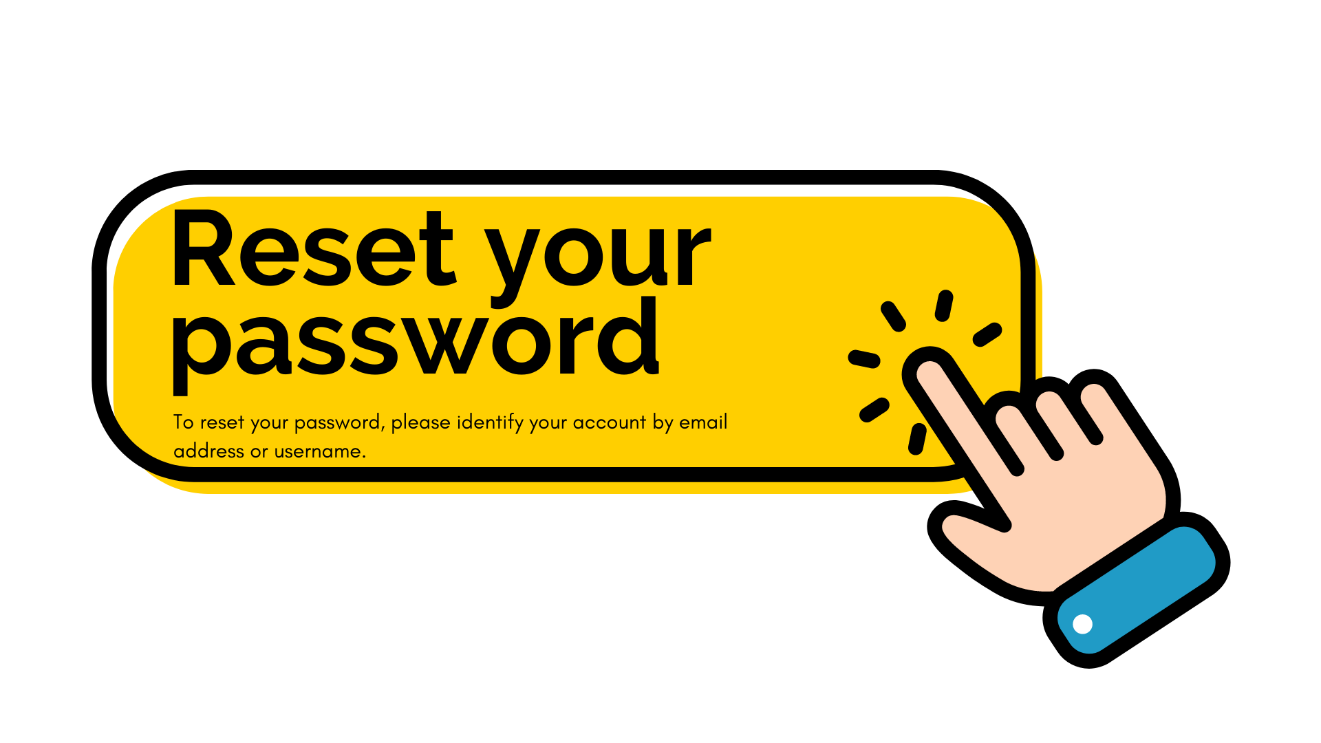reset your pw