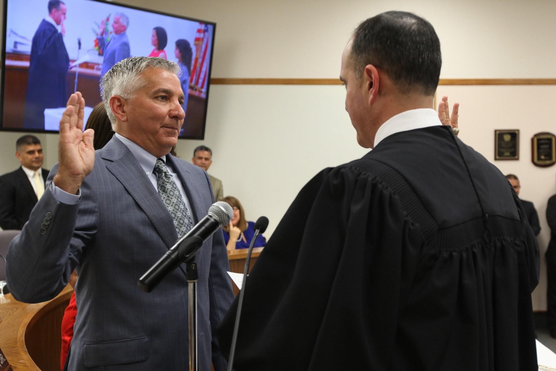 Daniel D. Vela pledging