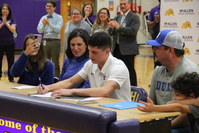 Alex Rodriguez Signs Letter of Intent to Compete in Track and Field at Duke University