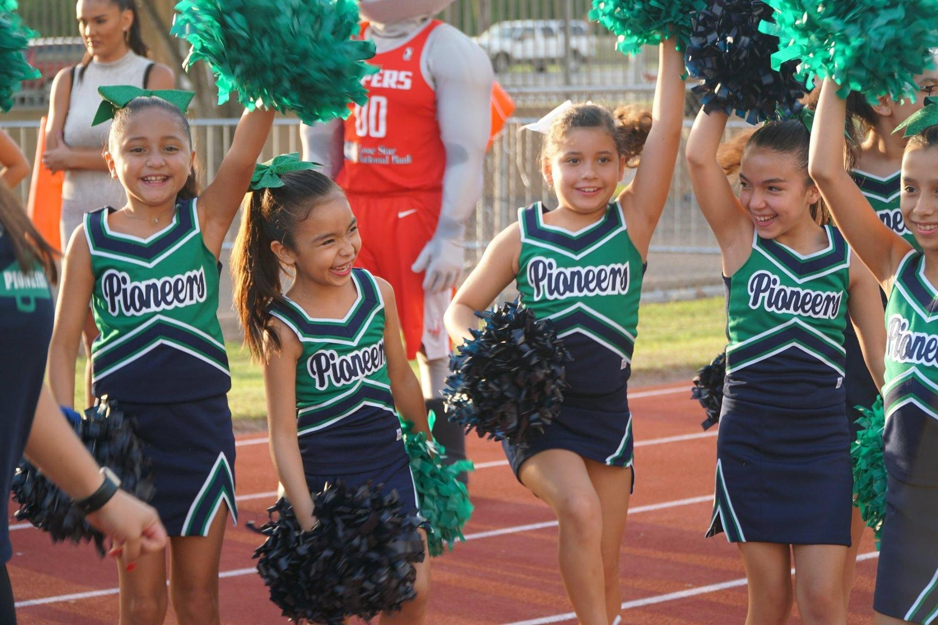 Young Cheerleader Squad
