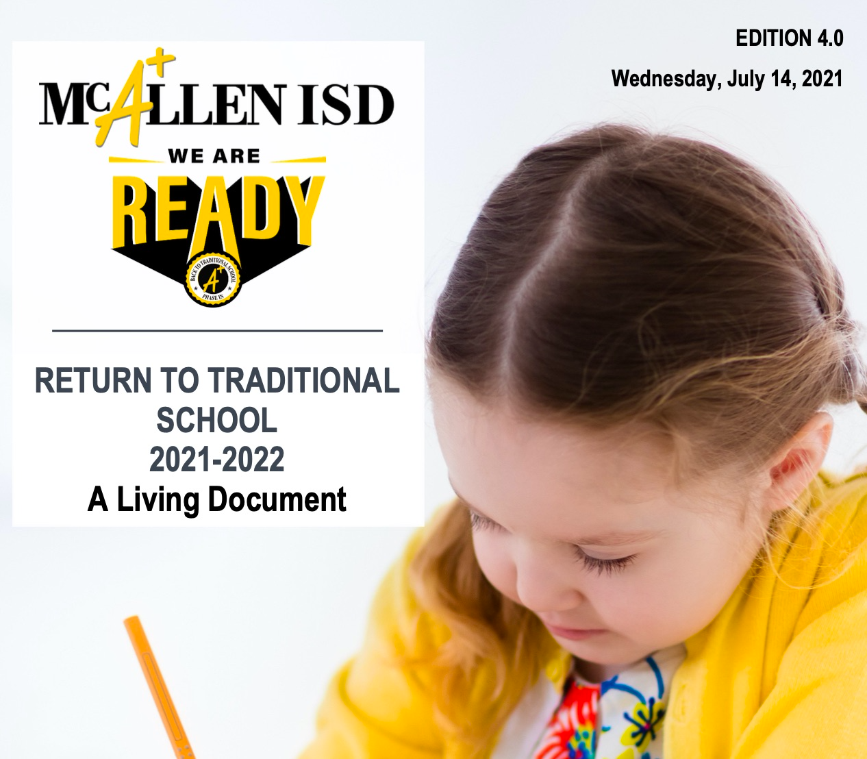 Return to Traditional School 2021-22