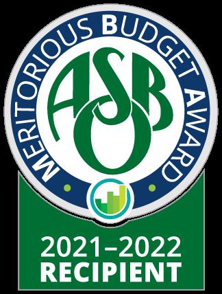 Meritorious Budget Award logo