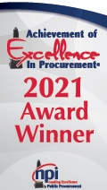 2021 Achievement of Excellence in Procurement Award