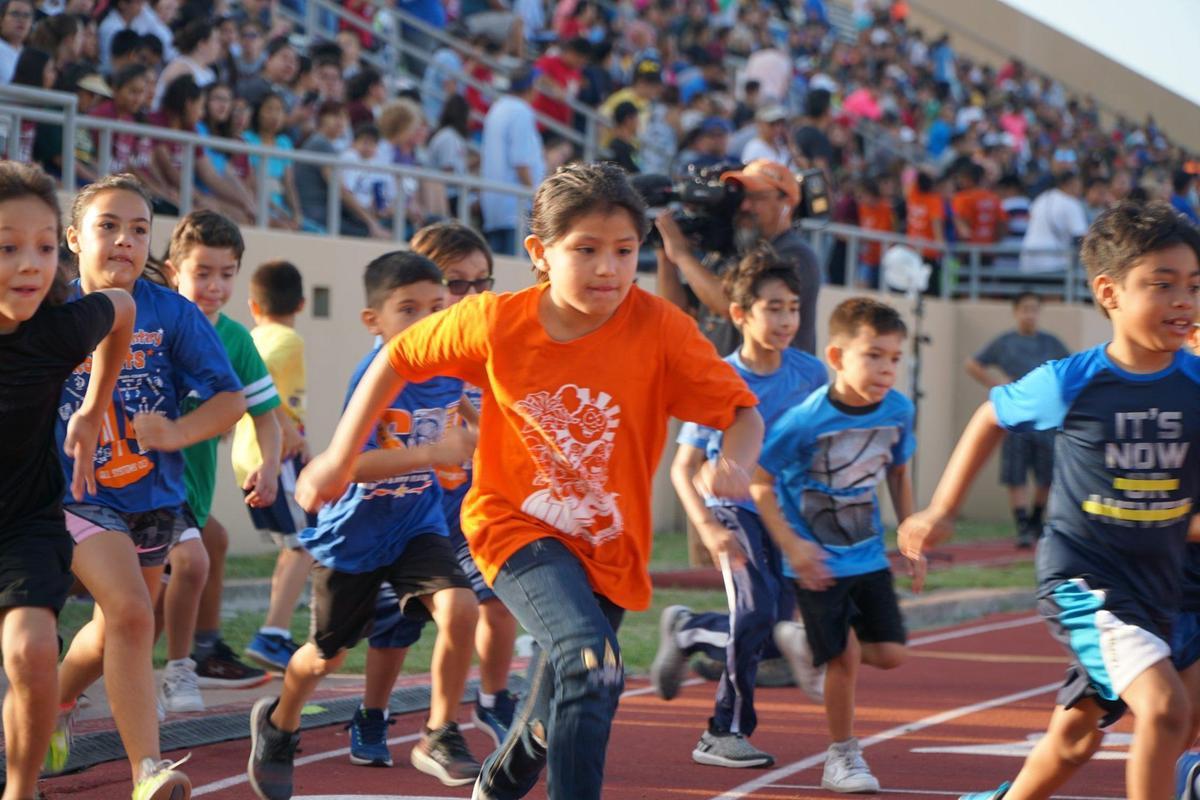 McAllen ISD Kids Marathon